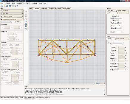 2D Truss Analysis - Truss Analysis Software