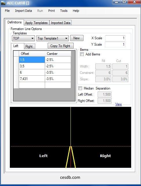AEC CutFill - Earthwork Volume/Quantity Calculating Software