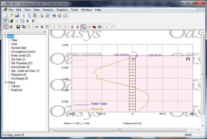 Alp - Laterally-Loaded Pile Design Software