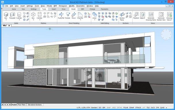 BricsCAD - 2D/3D CAD Design Toolkit Software