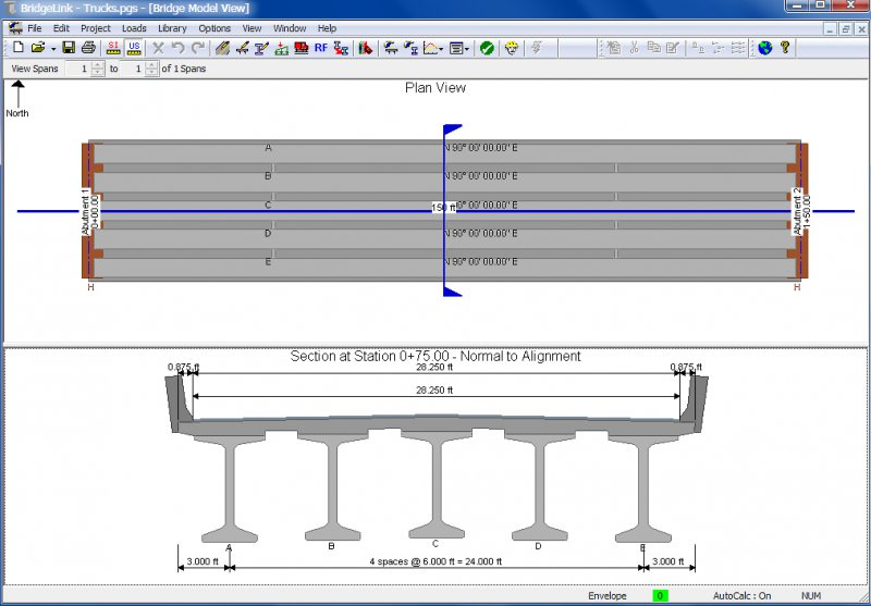 Bridgelink Integrated Bridge Engineering Design Analysis And Load Rating Software