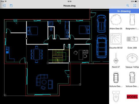 CAD Pockets - CAD editor and viewer (formerly ZWCAD Touch) App for iOS