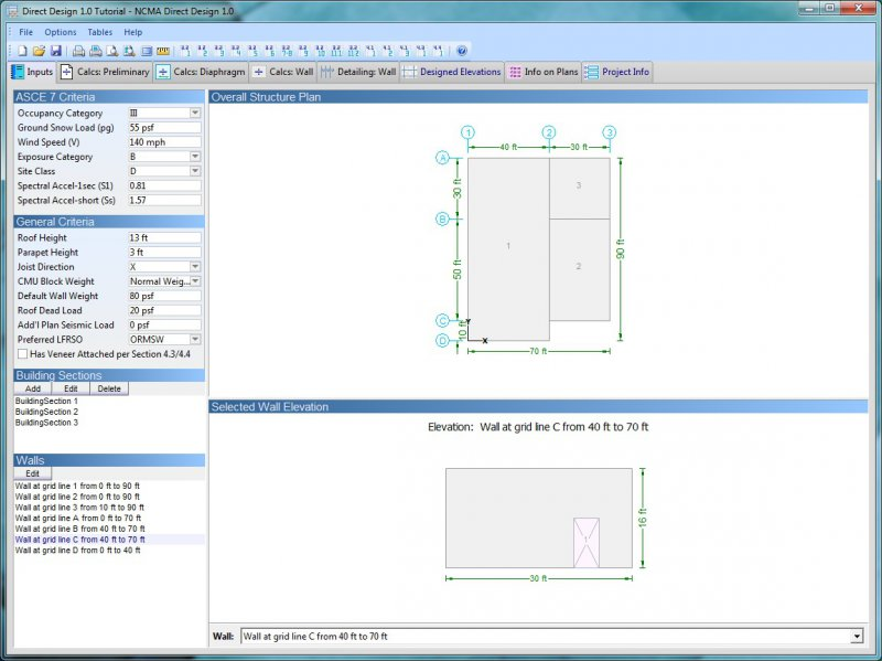 Direct Design - Accelerated Masonry Building Design Software