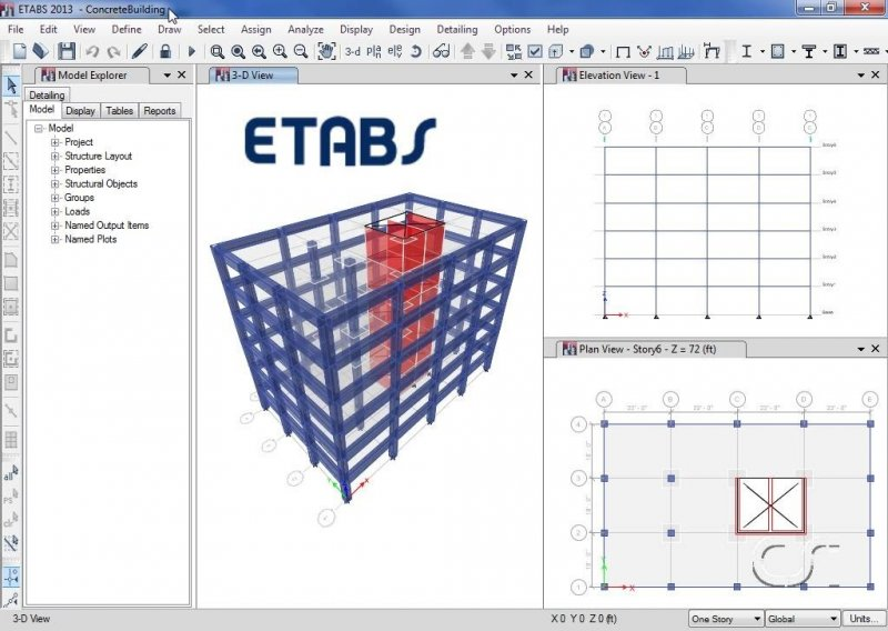Etabs Analysis Design And Drafting Of Building Systems Software