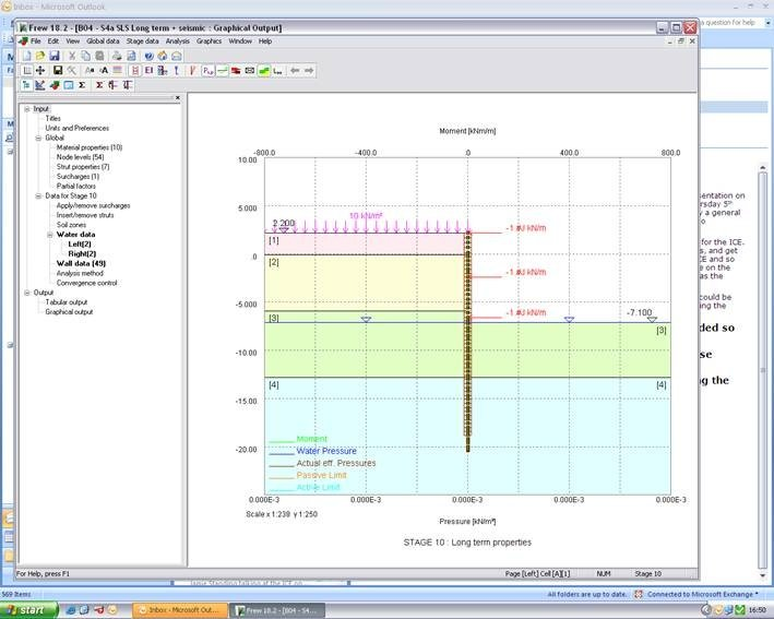 Frew Embedded Retaining Wall Analysis Software