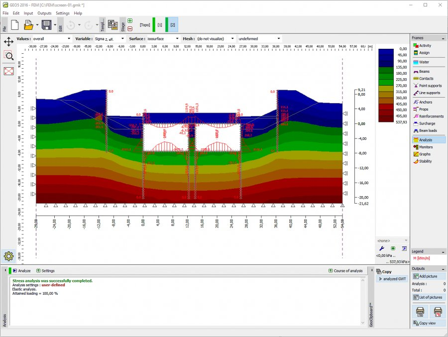 GEO5 is a suite of programs for geotechnical analysis. The software