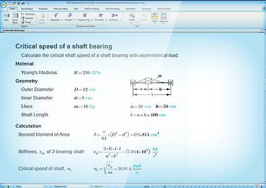 Mathcad - Solving & Analyzing Engineering Calculations ...