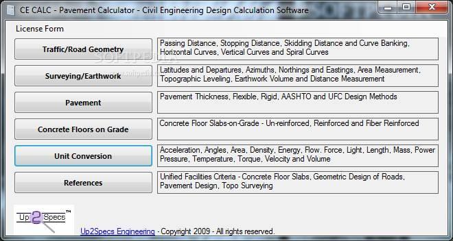 Pavement Calculator Pavement Design Calculator Software