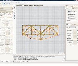 2D Truss Analysis screenshot