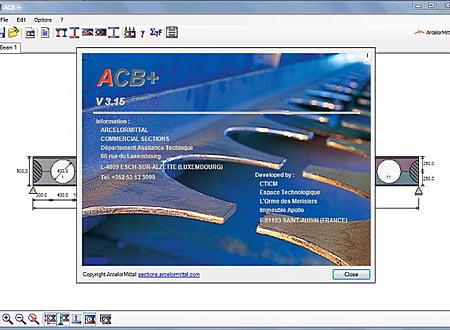 ACB: ArcelorMittal Castellated Beams screenshot