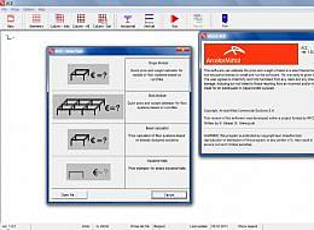 ACE Advanced Cost Estimator screenshot