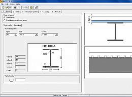 ACP: ArcelorMittal Construction Phase screenshot