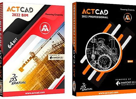 ActCAD screenshot