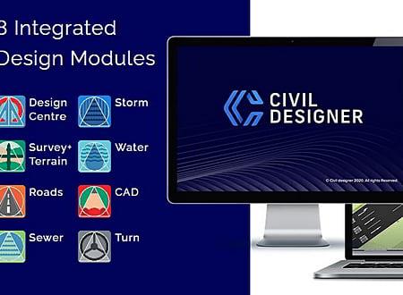 Civil Designer screenshot