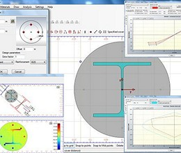 Cross Section Analysis & Design screenshot