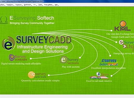 ESurvey CADD screenshot