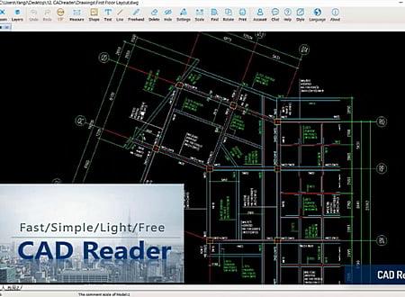 Glodon CAD Reader screenshot