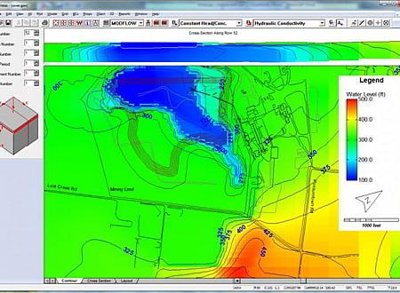 Groundwater Vistas screenshot