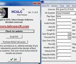 HCALC screenshot
