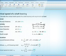 Mathcad screenshot