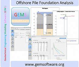 Offshore Pile Foundation Analysis screenshot