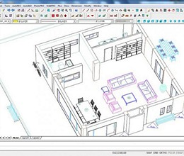 ProgeCAD Architecture screenshot