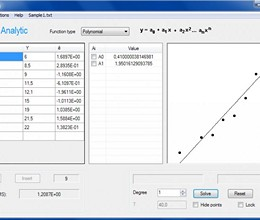 Regression Analysis screenshot
