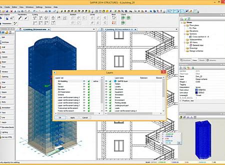 SAPFIR-3D screenshot