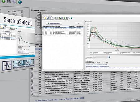 SeismoSelect screenshot