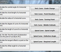 Surveying Calculator screenshot