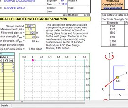 WeldGroup screenshot