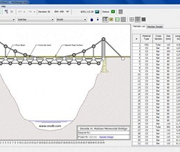 West Point Bridge Designer screenshot
