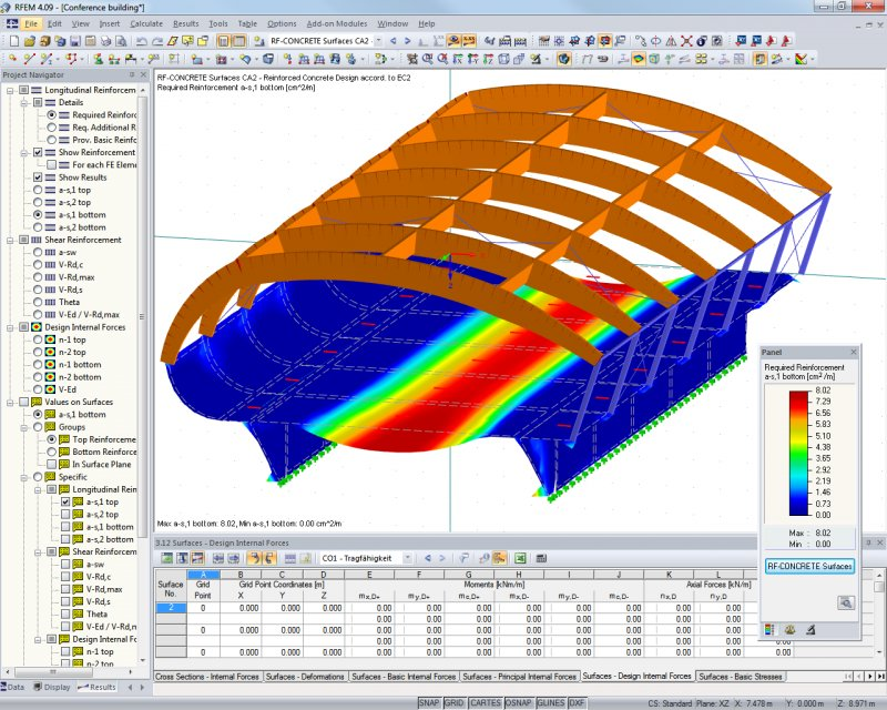 Rfem Fem Structural Analysis Software