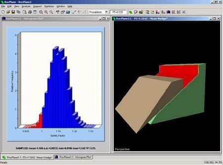 RocPlane - Planar Sliding Stability Analysis for Rock Slopes Software