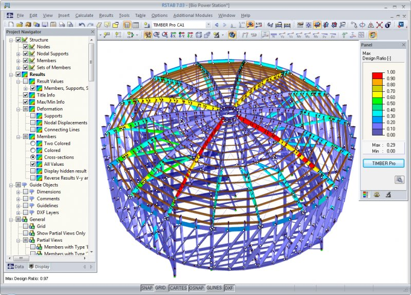 RSTAB - Structural Frame & Truss Analysis Software