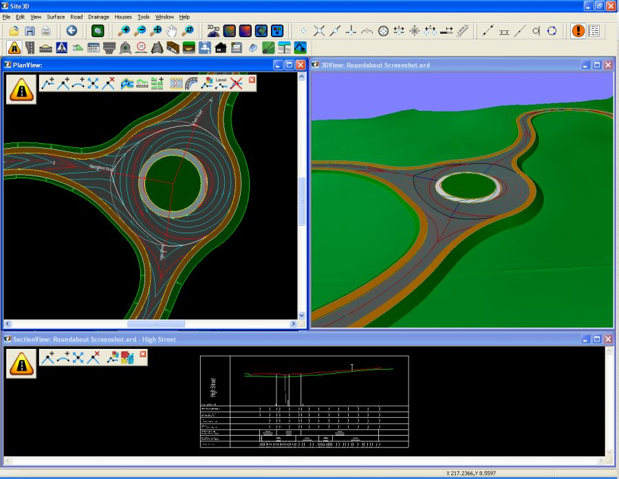 Site3d Site And Road Engineering 3d Design Software