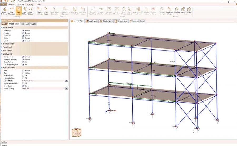 VisualAnalysis - General Analysis & Design Software