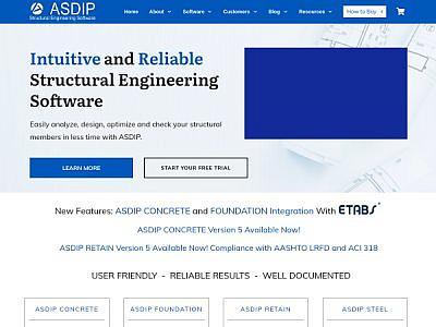 ASDIP Structural Software